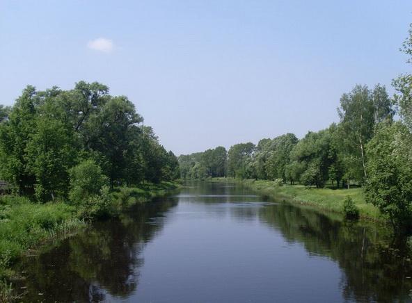 Река в летнее время