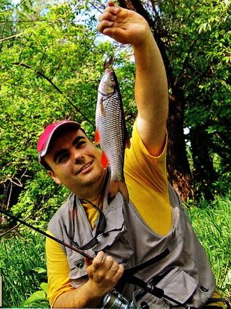 Ловля голавля на спиннинг на малой речке