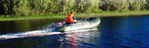 Зимнее хранение лодок из ПВХ