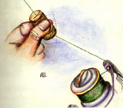 Как намотать плетенку