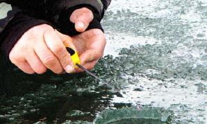 Особенные проводки - залог успеха на зимней рыбалке