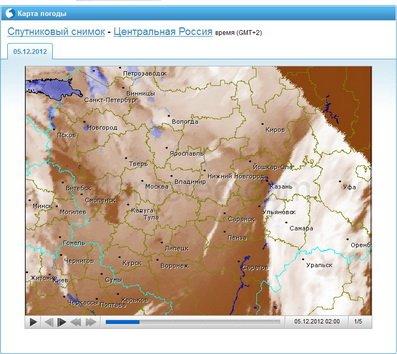 Прогноз погоды из интернета в помощь рыболову