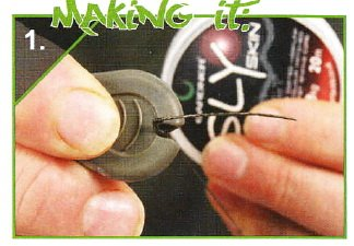 Оснастка поп-ап для ловли карпа