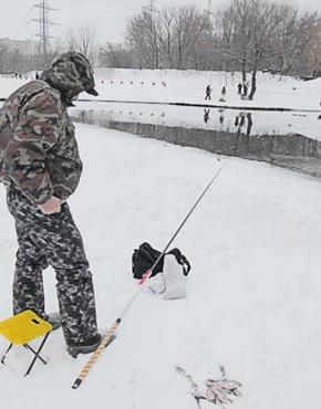 Рыболов должен быть экипирован в соответствии с сезоном