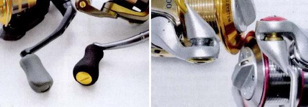 Ролики и ручки - важные элементы спиннинговой катушки
