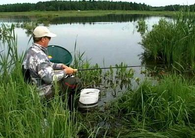 Рыболов с пикером