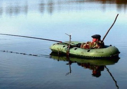 Ловить линя удобней с лодки