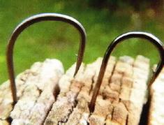 Крючки с разной шириной загиба