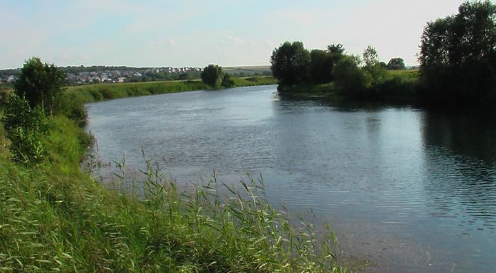 Средняя река богата крупной щукой