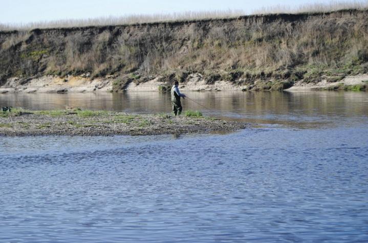 Крупная щука в малых реках