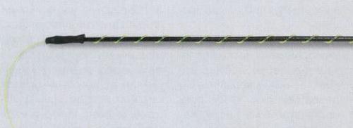 Леску на удочке можно крепить с помощью обмотки и кембриков