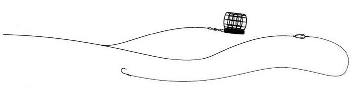 Простой партеностер - чувствительная фидерная оснастка
