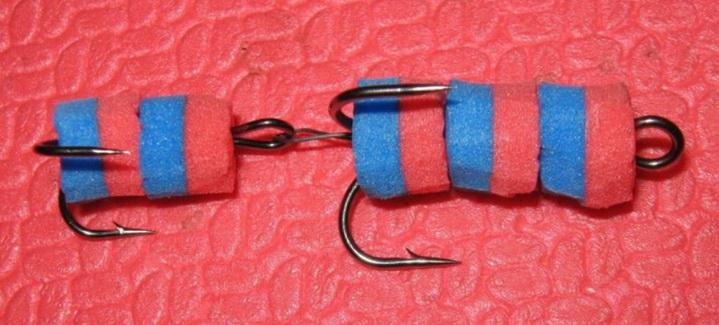 Мандула может быть сделана с крючками-двойниками