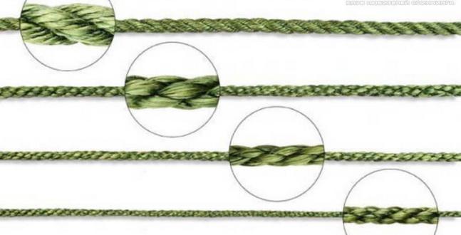 Конструкция шнура бывает разной