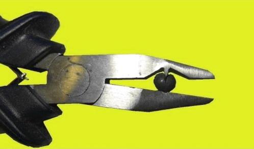Зажимной инструмент для грузил