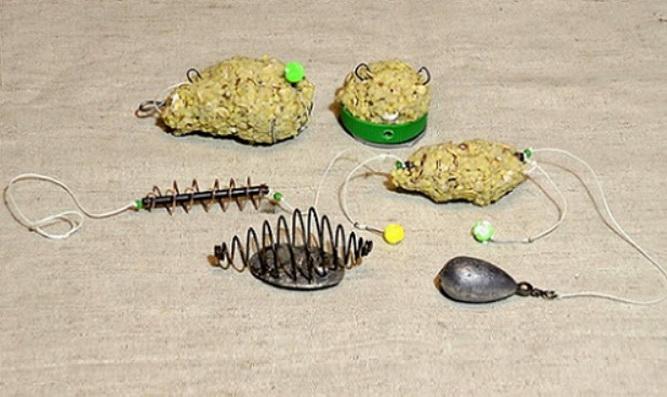 Подготовка оснастки и ловля леща на пенопластовые шарики
