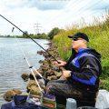 Рыбалка c фидером на сильном течении
