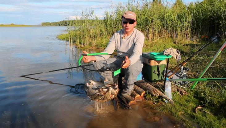 Ловля на матчевую удочку весной на водохранилище