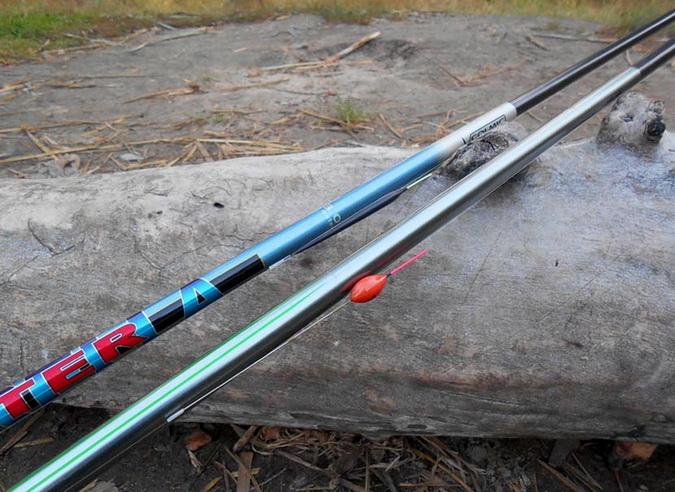 Выбор удочки для ловли уклейки