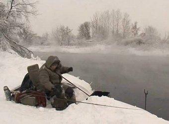 ловля зимой на фидерную снасть