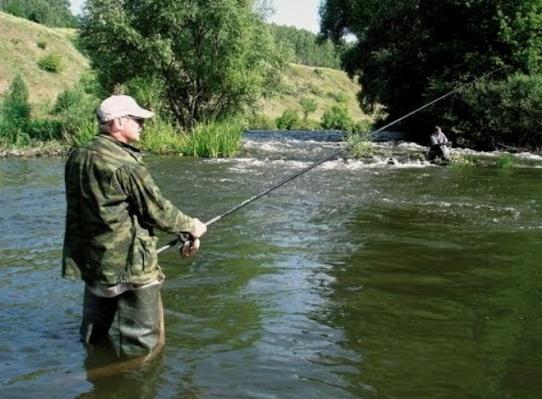 половить в проводку на реке