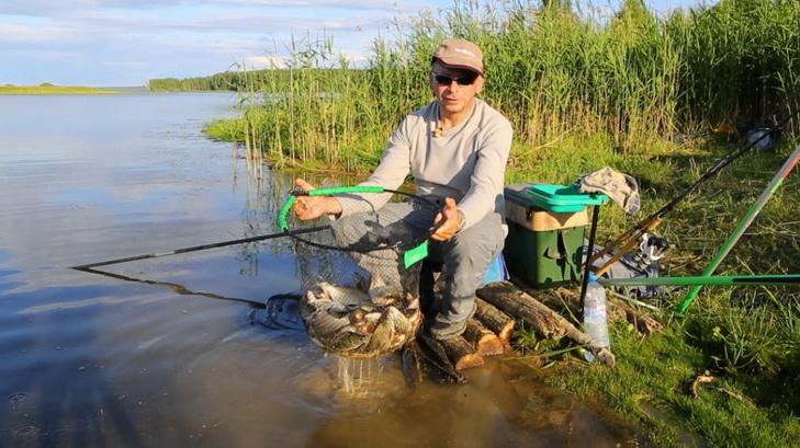 Хороший улов на хорошей рыбалке
