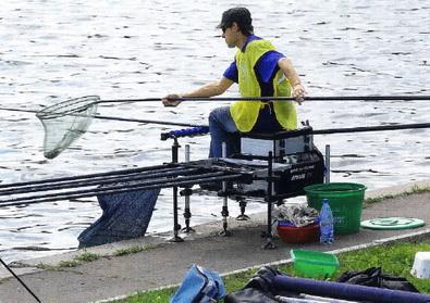 как расположиться на рыбалке с платформой