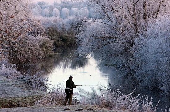 Как поймать голавля зимой