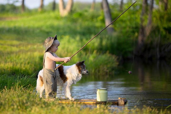 Летом на рыбалке