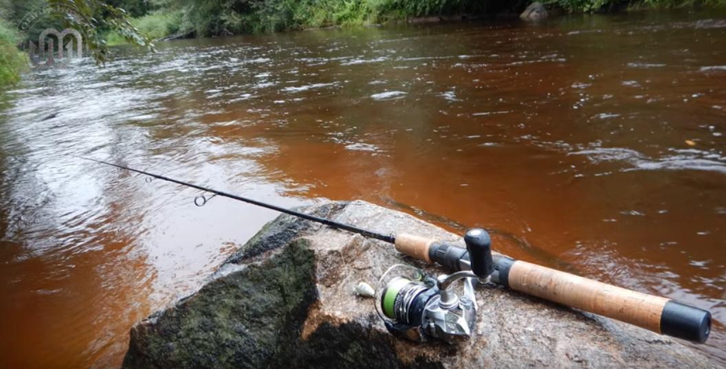 Ловля на спииннинг на небольших реках