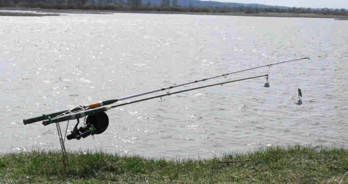 На рыбалке на карпа